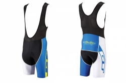 GT 2015 kraťasy Race Kit blue/white