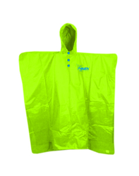 Haven poncho II fluo green