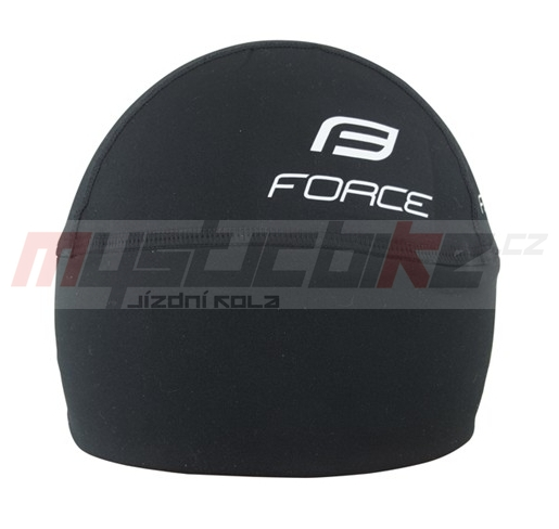 Force čepice pod přilbu zateplená lycra černá cee2b6db2c