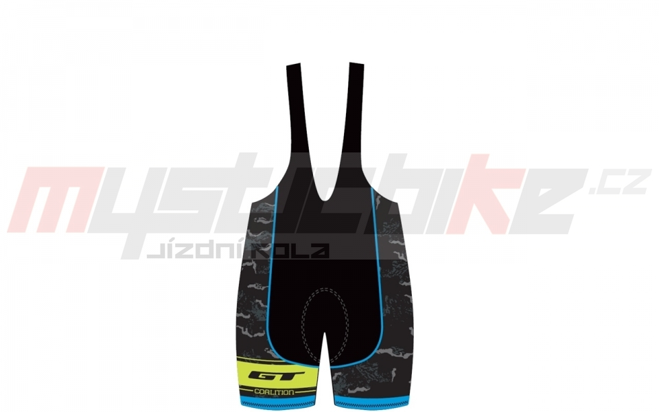 GT 2016 kraťasy s laclem race blue/yellow